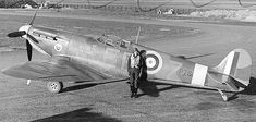 """Spitfire Mk IIA, EB-Z, """"Observer Corps"""", was built by Castle Bromwich, and delivered to 41 Squadron on 23 November 1940 Aircraft Photos, Ww2 Aircraft, Fighter Aircraft, Military Aircraft, Fighter Jets, Historia Universal, The Spitfires, Supermarine Spitfire, Ww2 Planes"""