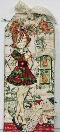 Prima Doll 25 by Serenity_Stamper - Cards and Paper Crafts at Splitcoaststampers