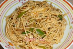 Thai Curry Noodles Simple and delicious lunch or dinner dish.