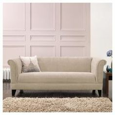 Millie Large Fabric Sofa Mink