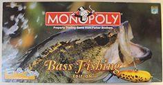 Amazon.com: Monopoly (Bass Fishing Edition): Toys & Games