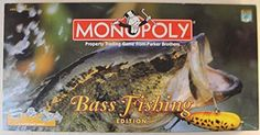 Amazon.com: Monopoly (Bass Fishing Edition): Toys & Games