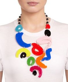 I need this! Beautiful paint brush necklace Tatty Devine