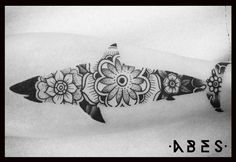 mandala shark by Abes -