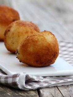 Arancini avec des restes de risotto