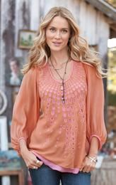 RAY OF LIGHT TUNIC