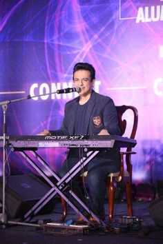 Acclaimed musician Adnan Sami joined us at the event and created a magical environment with his solo piano performance!