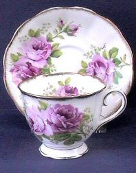 Vintage Tea Cups - Tea Pots- Tea Sets Royal Albert American Beauty Rose Teacup Antiques & Collectibles