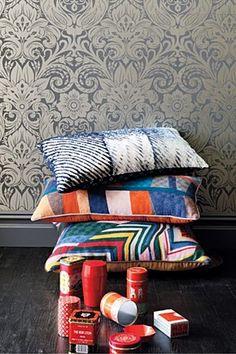 cushions. love