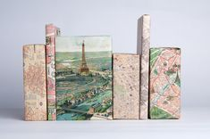 Travel Paris with these 12 unique sheets of wrapping paper. • Qt. 12 Sheets (1 of each 12 designs) • Size: 13 x 19 - Perfect for small to medium