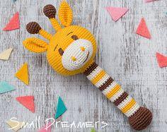Rattle baby crochet. Baby toy. Baby Shower от maricatimonsina