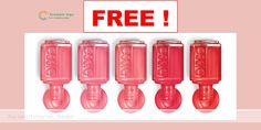 Free Essie Nail Polish Sample - Free Samples By Mail Free Beauty Samples, Free Samples By Mail, Free Makeup Samples, Free Stuff By Mail, Get Free Stuff, Nail Polish Brands, Essie Nail Polish, Coupons For Free Items, Freebies By Mail