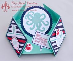 Stampin' Up! by First Hand Emotion: Diamantgefaltete Sea-Street-Krake