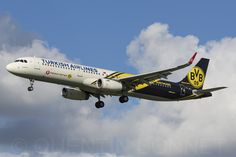 https://flic.kr/p/yLJ9NF | Turkish Airlines Airbus A321-231(WL) TC-JSJ