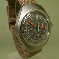 OMEGA vintage 1971 seamaster FLAT JEDI chronograph  ref 145.024 cal 861