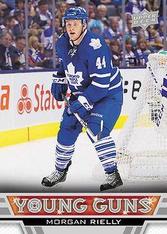 A large assortment the Upper Deck hockey cards for sale Hockey Teams, Ice Hockey, Hockey Cards, Baseball Cards, Morgan Rielly, Maple Leafs Hockey, Nhl Players, Young Guns, Collector Cards