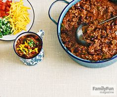 Speedy Chili Con Carne: This chuck wagon-inspired dish evokes a meal cooked over an open fire, but it's easily whipped up in the kitchen.