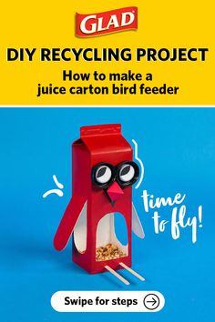 Recycling Projects For Kids, Recycled Crafts Kids, Diy Crafts For Adults, Easter Crafts For Kids, Fun Crafts For Kids, Toddler Crafts, Diy For Kids, Recycling Ideas, Diy For Teens
