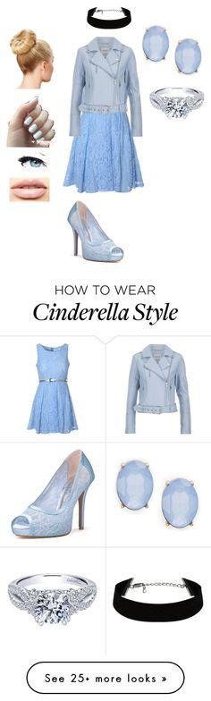 """Modern Cinderella"" by kjp456 on Polyvore featuring Glamorous, Gestuz, Cara, LASplash, Maybelline, modern, women's clothing, women, female and woman"