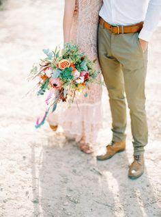 Photography: Ana Lui Photography - analuiphotography.com   Read More on SMP: http://www.stylemepretty.com/destination-weddings/2016/04/06/southwest-inspired-wedding-inspiration-with-aztec-influence/