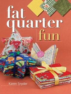Fat quarter bundles are all the rage because there are plenty to go around,they're affordable, and often come in the latest fabrics. Recent quiltingsurveys show fat quarter quilting is where it's at for many of today'squilters. Fat quarter bundles are a guilty pleasure many quilters can affordto indulge in, and this follow-up to the popular guide Bundles of Fun showsyou how to make the most of your investment. It features detailed instructionsfor making a #FabricCutter Discount Fabric Online, Buy Fabric Online, Patchwork Fabric, Cotton Quilting Fabric, Linen Fabric, Gingham Fabric, Viscose Fabric, Fabric Art, Satin Fabric