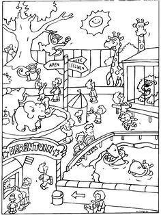 free zoo coloring page zoo coloring pages 4 printable coloring page