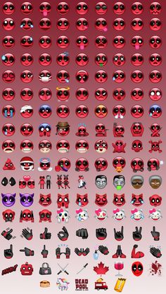Download Deadpool Emoji Immediately