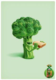 Bimbo Vegetables by Giovanni Macco, via Behance