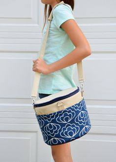 ikat bag: Zip A Bag Chapter 13: Collapsible Drum