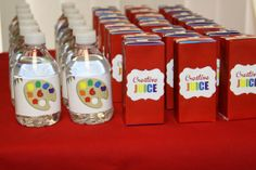 20 Juice Box Labels  Juice Box Wrappers  Art by sugarandspiceNOLA, $16.00