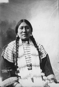 Mrs. Charlie Dunn - Hunkpapa - 1904