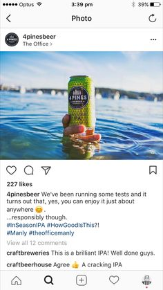 Enjoy It, Ipa, The Office, Brewing, Water Bottle, Canning, Drinks, Lifestyle, Drinking