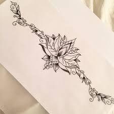 Resultado de imagen de tummy tuck tattoo designs for women Sternum Tattoo Lotus, Lotusblume Tattoo, Chest Tattoo, Piercing Tattoo, Piercings, Tummy Tuck Scar Tattoo, Tummy Tuck Scars, Vine Tattoos, Body Art Tattoos