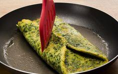 Receitas Anabólicas – Omelete Super Proteico de Espinafre | Definição Total