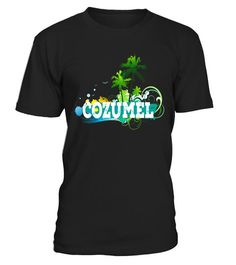 Cozumel Mexico T-shirt Travel Vacation Tropical Unisex Tee  #tshirts #fashion