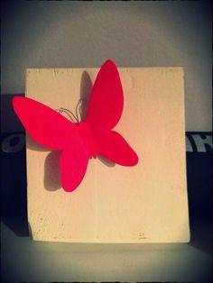 Come recuperare un pallet ... Farfalle 3D
