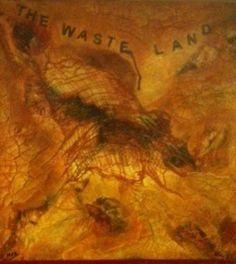 'The Waste Land' Mary Arkless, mixed media