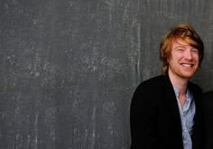 Domhnall Gleeson Pretty People, Beautiful People, Markus Zusak, Domhnall Gleeson, Handsome Faces, British Men, Mischief Managed, Movie Stars, Famous People