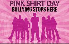 Anti Bullying Day. Bullying stops here