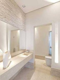 Resultado de imagem para pendente no banheiro pequeno