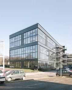 WESTSIDE - Programme tertiaire_RENNES - Agence a/LTA architectes - urbanistes Le Trionnaire (x2) - Tassot - Le Chapelain Multi Story Building, Rennes, Architects, Program Management