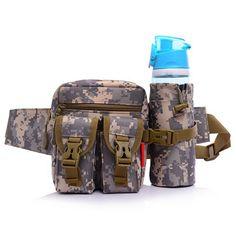 0a8cc6b36bda  US 10.39  Sports Waist Pack Water Bottle Bag For Hiking Climbing Riding   sports