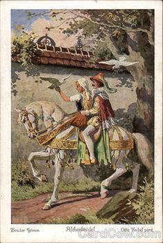 Aschenbrödel, Brüder Grimm (Brothers Grimm) Fairy Tales