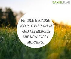 The steadfast love of the LORD never ceases; his mercies never come to an end; they are new every morning; great is your faithfulness. -Lamentations 3:22-23