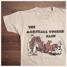 WEBSTA @ squashblossomvintage - 1977 Marshall Tucker Band concert t-shirt... just listed!