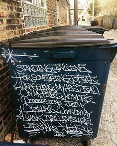 street scripts by Vails (@novacaine_mmxvii). #vails #handstyle #graffiti //follow @handstyler on Instagram