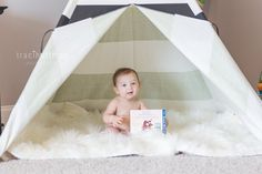 6 Month Pictures by Traci Huffman Photography