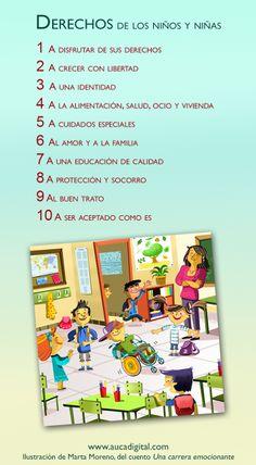 Día Internacional de los Derechos del Niño  10 Derechos de los Niños y Niñas