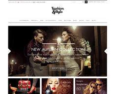 FASHION Design – Luxury & Glamour  Das Fashion Opencart Template erscheint in reinem Schwarz und Weiß, so dass Ihre Produkte im Mittelpunkt stehen und der Blick des Käufers durch nichts abgelenkt wird. Mehr auf: http://onshop.de/fashion-design/