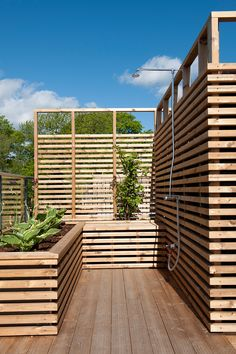 Roof garden shower, Parkveien 5, by KIMA arkitektur